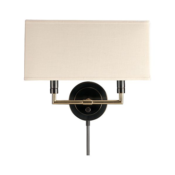 Charles Bronze Wall Sconce