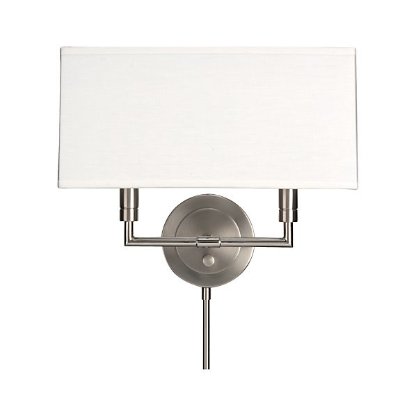 Charles Nickel Wall Sconce