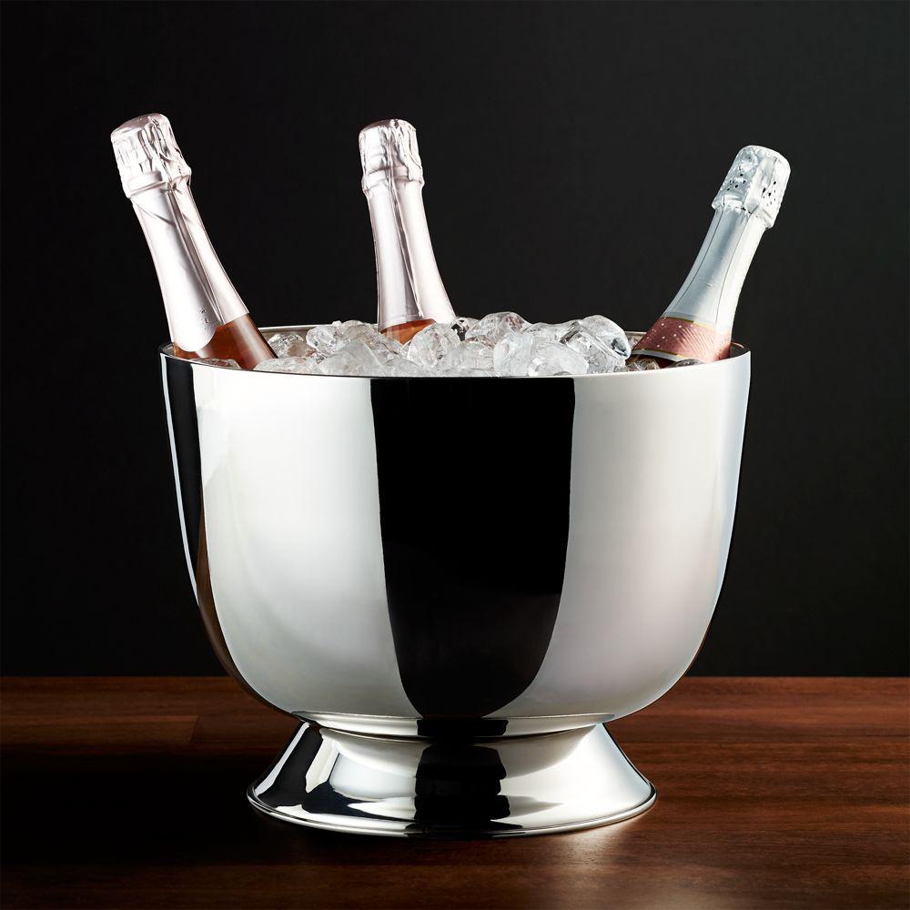 Charleston Wine/Champagne Bucket - Crate and Barrel
