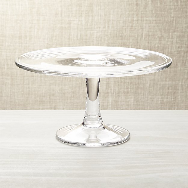 Brand new Pedestal Cake Plate + Reviews | Crate and Barrel JH91