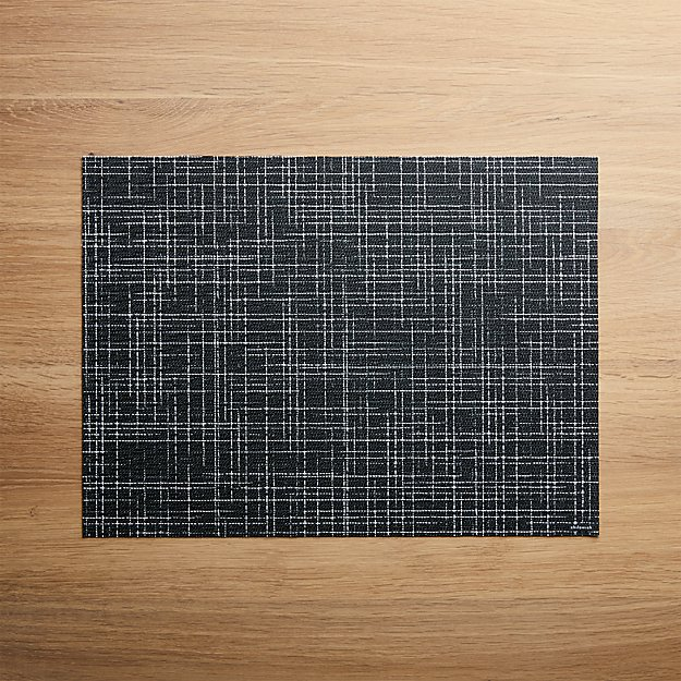 Chilewich ® Charm Black Placemat - Image 1 of 4