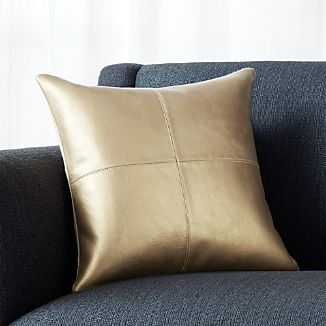 "Chaz Copper 16"" Pillow with Down-Alternative Insert"