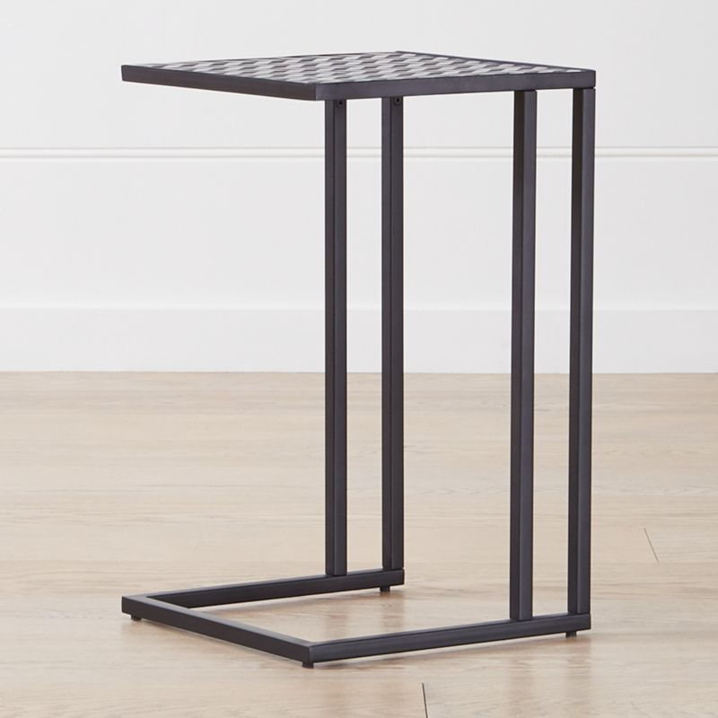 Check Resin C Table + Reviews | Crate and Barrel