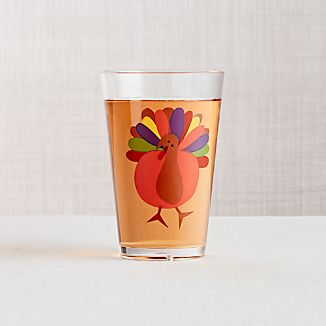 Cheerful Turkey Acrylic Tumbler