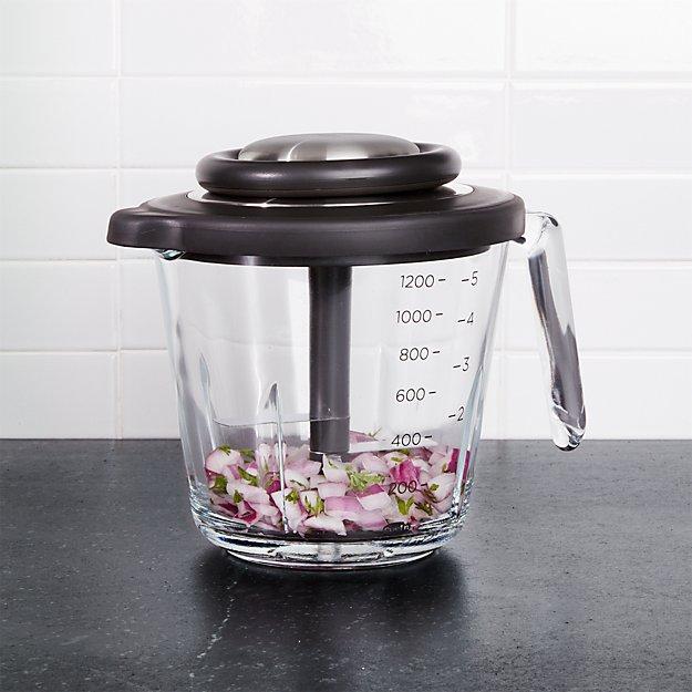 Chef\'n VeggiChop Pro + Reviews | Crate and Barrel