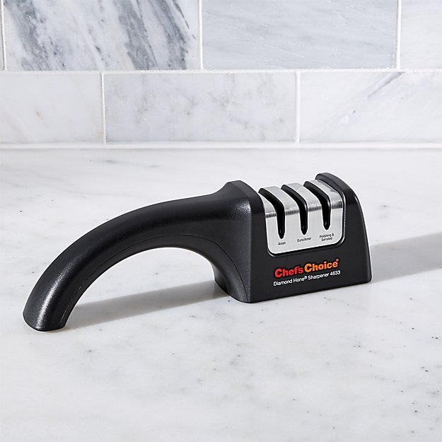 Chef'sChoice ® AngleSelec t ® Diamond Hone ® Knife Sharpener Model 4633