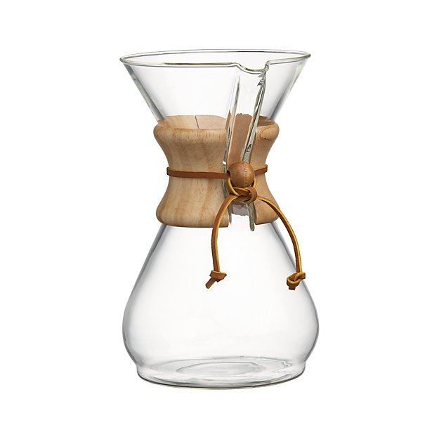 2df2da5c71eb Chemex 8-Cup Coffee Maker + Reviews | Crate and Barrel