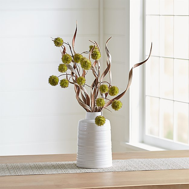Chestnut Faux Flower Arrangement Crate And Barrel