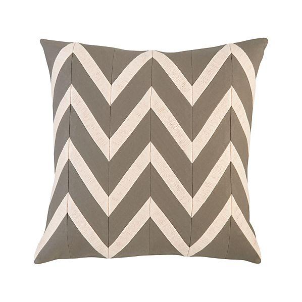 "Chevron Blush 18"" Pillow"