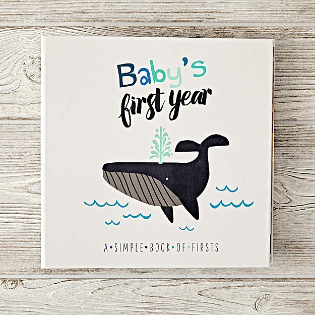 Babys First Year Blue Baby Book Reviews