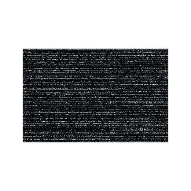 Chilewich Blue Stripe Woven Floormat 18 Quot X28 Quot Reviews