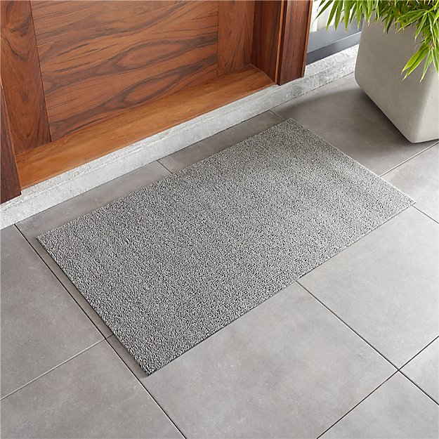 """Chilewich ® Heathered Fog Woven Floormat 20""""x36"""" - Image 1 of 3"""