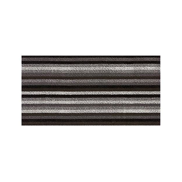 Chilewich Grey And Black Doormat Door Mats Reviews