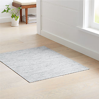 "Chilewich ® Mosaic Blue Woven Floormat 35""x48"""