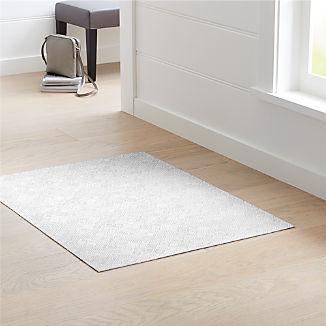 """Chilewich ® Mosaic Grey Woven Floormat 35""""x48"""""""