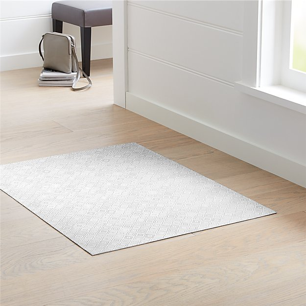 "Chilewich ® Mosaic Grey Woven Floormat 35""x48"" - Image 1 of 4"