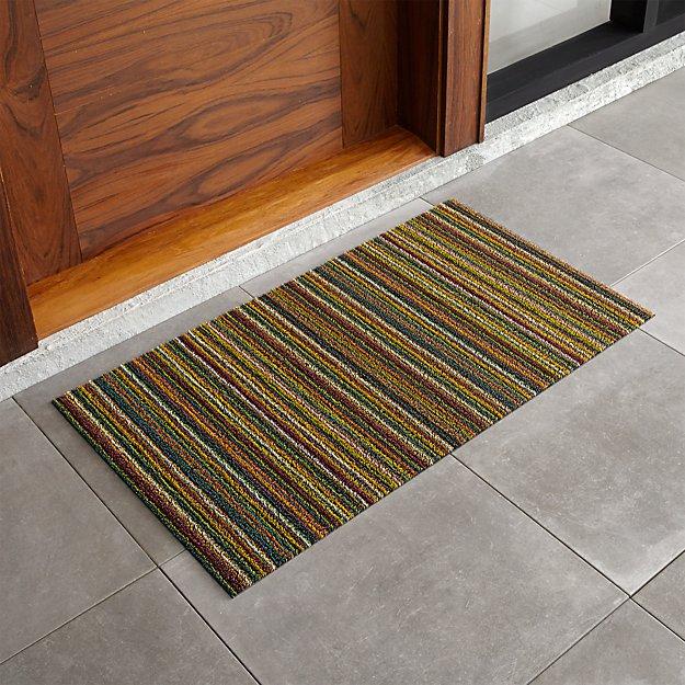 "Chilewich ® Multi Thin Striped 20""x36"" Doormat"