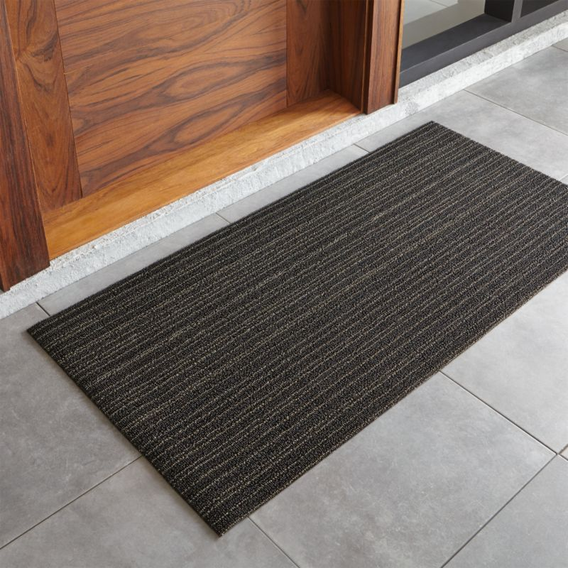 Chilewich Steel Striped 24 Quot X48 Quot Doormat Reviews Crate