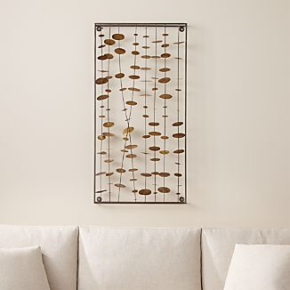 Chimes Metal Wall Sculpture