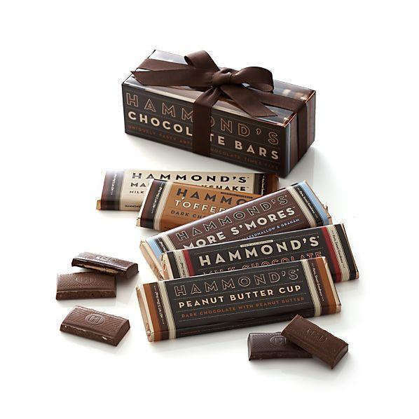 5-Piece Chocolate Bar Gift Set