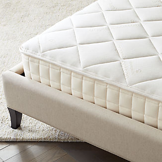 Comfortable Mattresses And Box Springs Crate And Barrel
