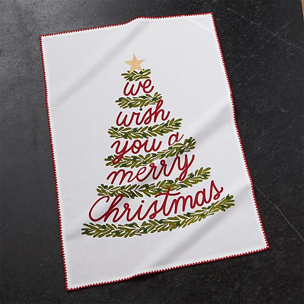 ChristmasTreeDishTowelROF17