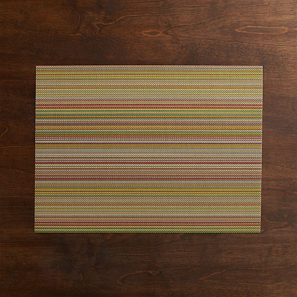 Chilewich ® Chroma Stripe Placemat