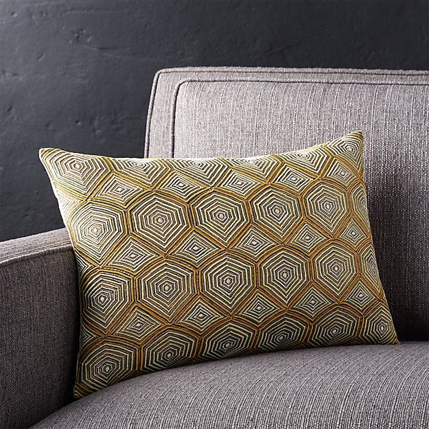 """Cintar 18""""x12"""" Pillow with Feather-Down Insert"""
