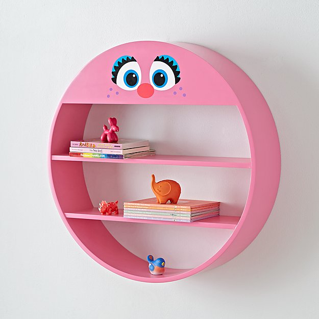 Sesame Street Abby Cadabby Circle Shelf + Reviews | Crate and Barrel
