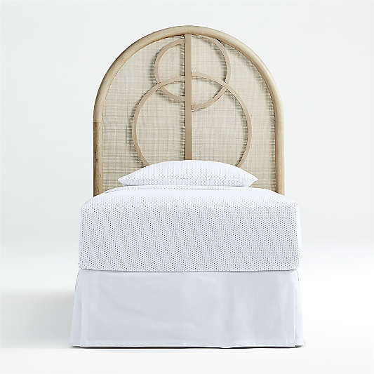Circle Cane Headboard