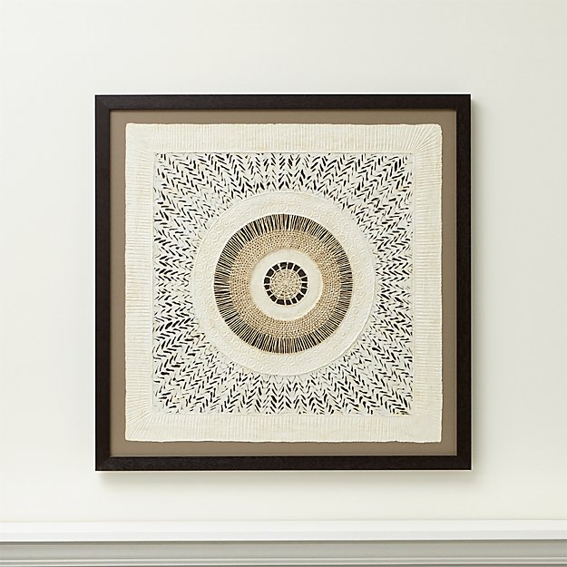 circulo de papel wall art reviews crate and barrel