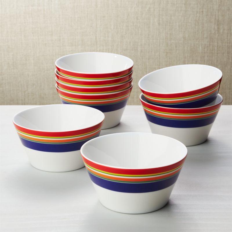 fancy wood bowls bowls dessert salad serving cereal soup bowls crate and barrel