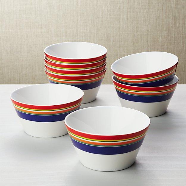 Cirque Cereal Bowls, Set of 8