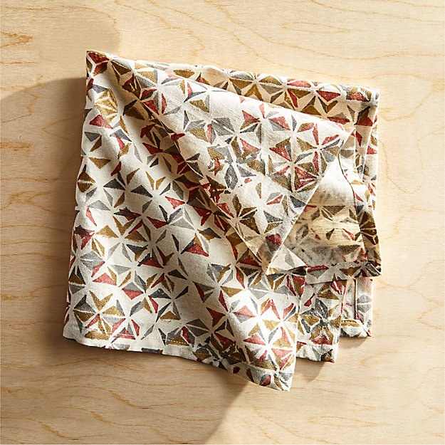 Cirque Patterned Napkin - Image 1 of 4