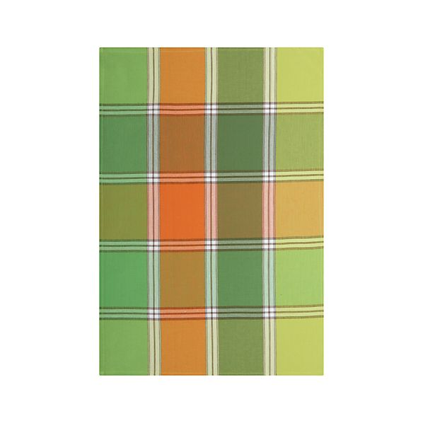 Citrus Plaid Dishtowel