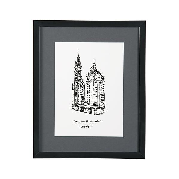Cityscape Chicago Print
