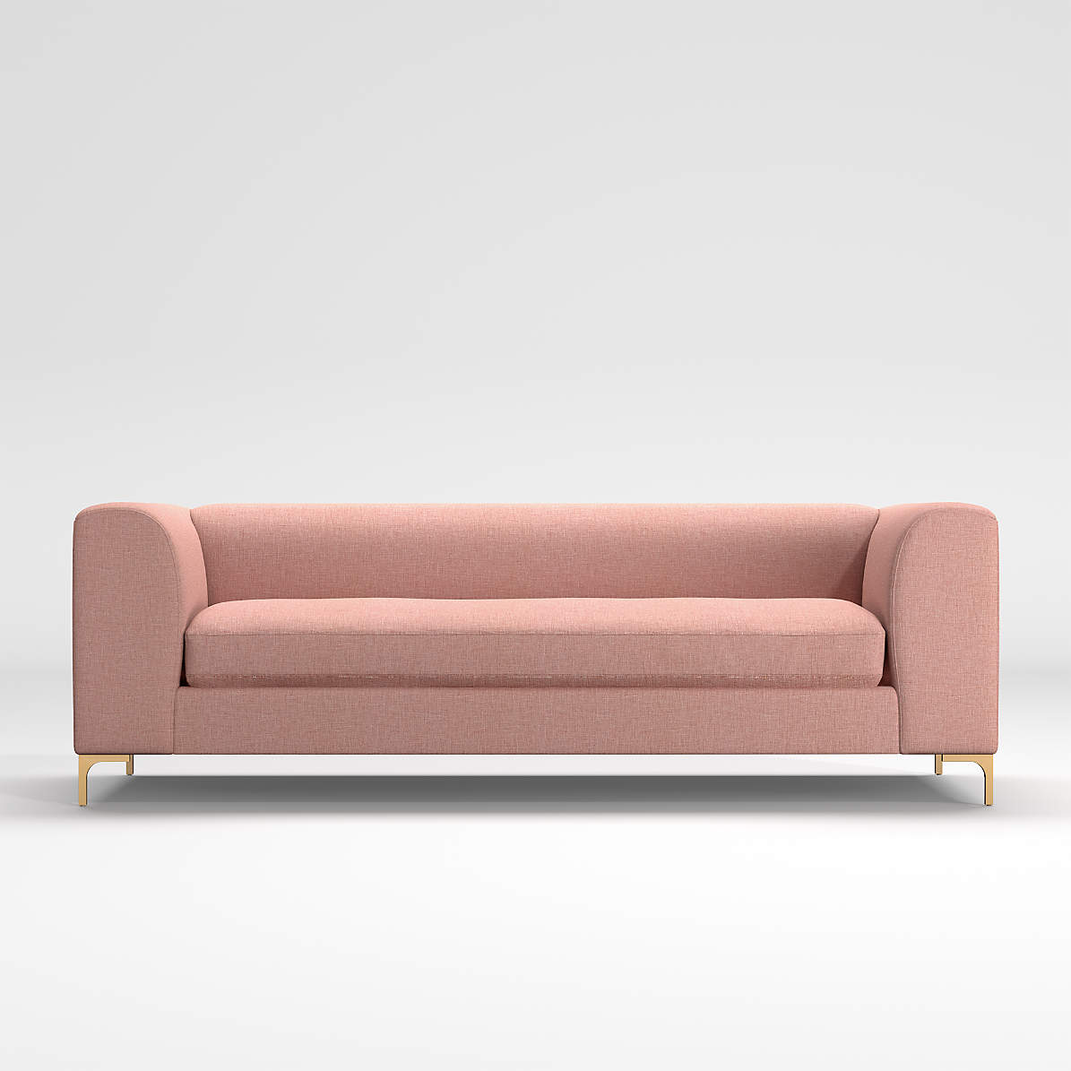 Claire Pink Sofa Reviews Crate And Barrel