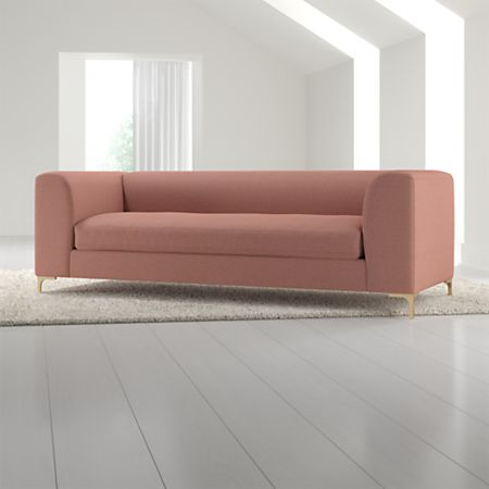 Claire Modern Sofa With Metal Legs