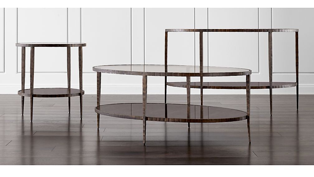 Crate And Barrel Clairemont Coffee Table Designs