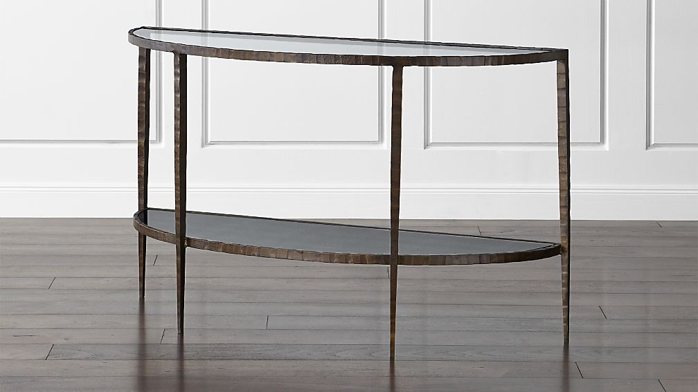 Clairemont Demilune Console Table + Reviews
