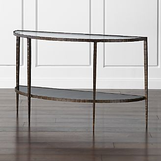 Ordinaire Clairemont Demilune Console Table