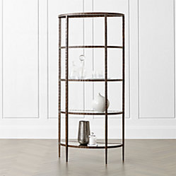 Clairemont Demilune Console Table Crate And Barrel