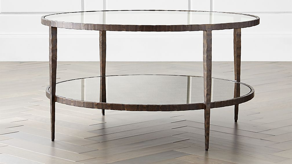 Clairemont Round Art Deco Coffee Table Reviews Crate And Barrel