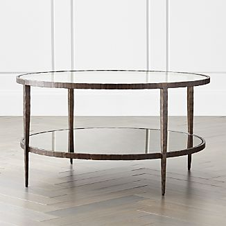 Clairemont Round Art Deco Coffee Table