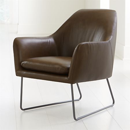 Pleasant Clancy Leather Chair Inzonedesignstudio Interior Chair Design Inzonedesignstudiocom