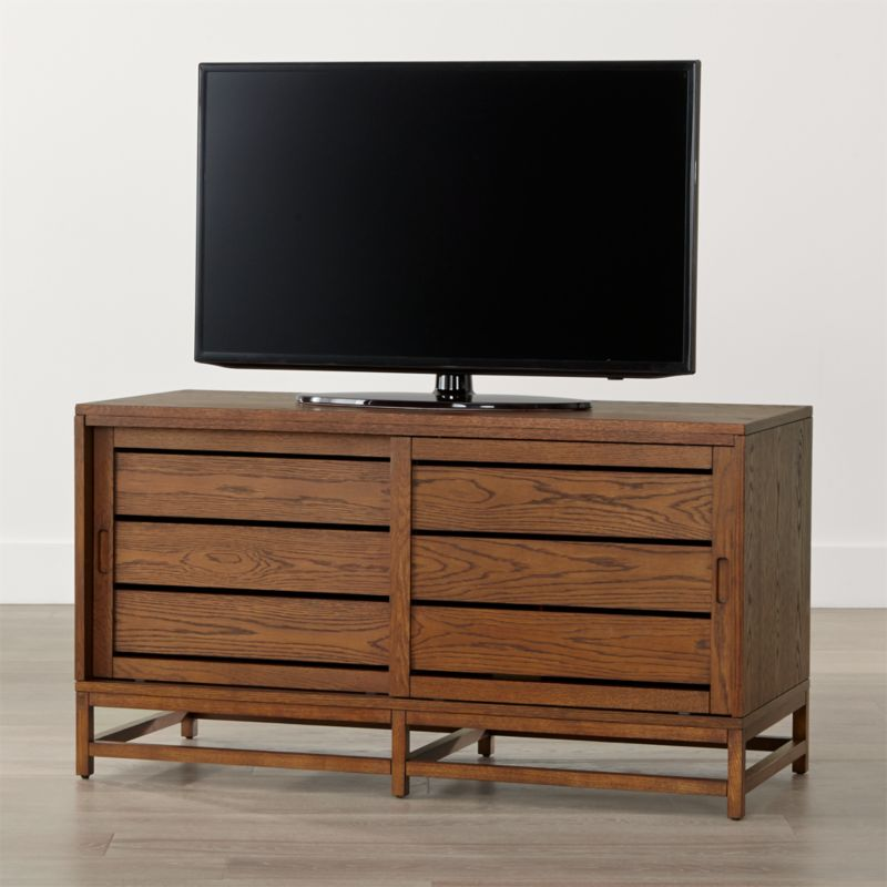 Clapboard Bourbon 48 Quot Media Console In Tv Stands Amp Media