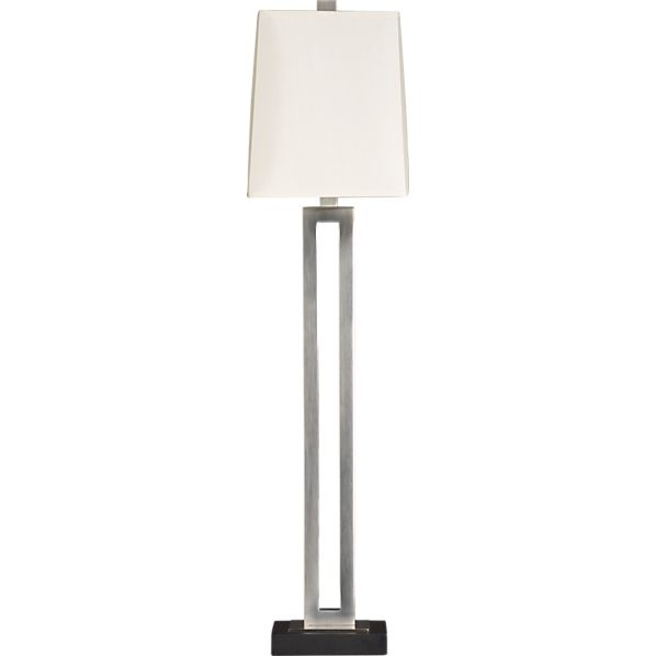 Clare Buffet Lamp Ant Silver