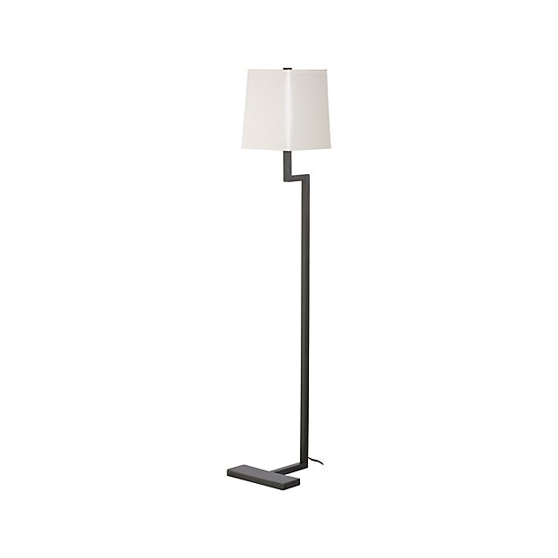clare antiqued bronze floor lamp reviews crate and barrel With next bronze floor lamp