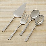 Clark Satin 4-Piece Serving Set