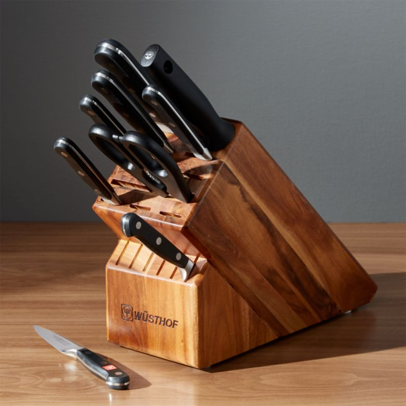 W 252 Sthof Classic 10 Piece Knife Block Set Reviews Crate